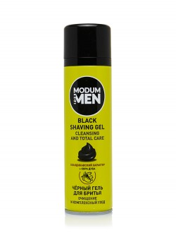 Гель для бритья Modum For Men Black Cleansing And Total Care